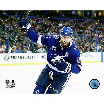 Steven Stamkos 2017-18 Action Photo imprimable