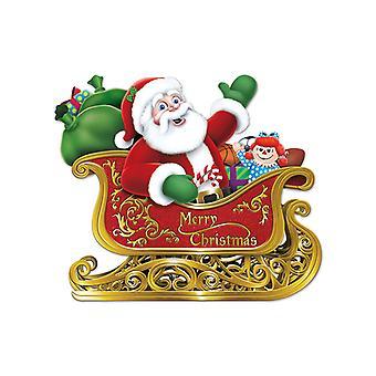 Babbo Natale In slitta estirpare 24¾