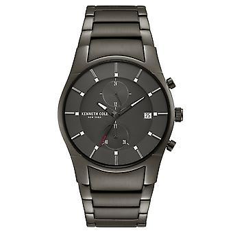 ケネス ・ コール ニューヨーク男性手首腕時計アナログ クオーツ ステンレス鋼 KC15176001