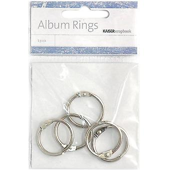 Kaisercraft Split Metal Album Rings 1
