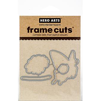 Hero Arts Frame Cut Dies-Color Layering Swallowtail