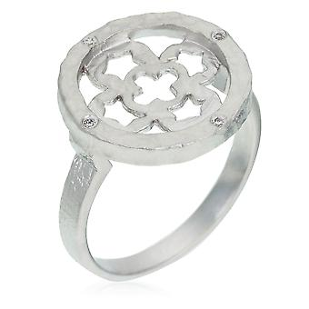 Orphelia sølv 925 Ring Zirconium ZR-3940