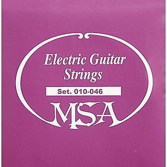 Stål gitarstreng MSA Musikinstrumente SK50 010-046