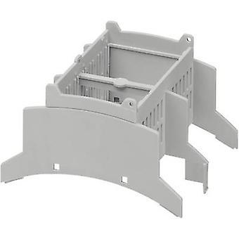 DIN rail casing 89.7 x 71.6 x 62.2 Polycarbonate (PC) Light gr