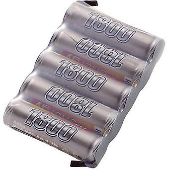 Scale model receiver battery (NiMH) 6 V 1800 mAh Conrad energy S