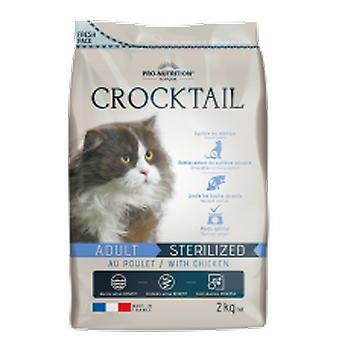 Flatazor Feed for Cats Crocktail Adult Sterilized Chicken (Cats , Cat Food , Dry Food)