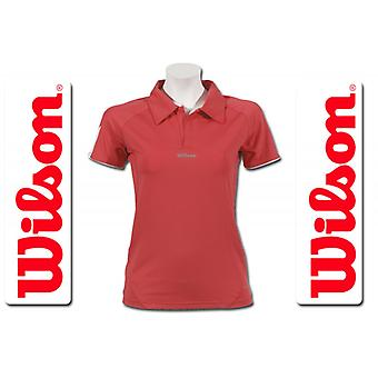 Wilson Damen Performance Polo rosé WRE11290090