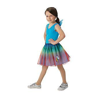MLP Rainbow Dash Tutu Set Kostüm Set für Kinder My little Pony