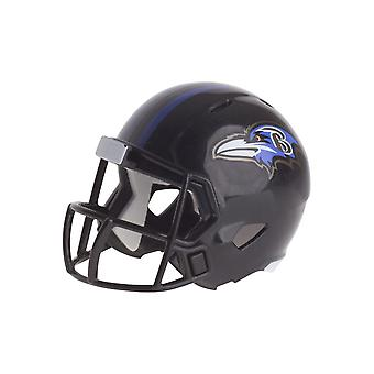 Riddell Speed Pocket Football Helm - NFL Baltimore Ravens