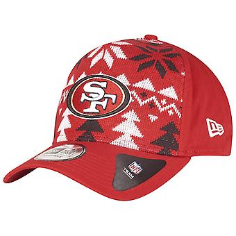 New Era Christmas Jumper Trucker Cap - San Francisco 49ers