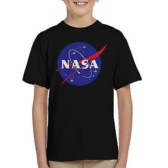 T-shirt da NASA Insignia clássico infantil