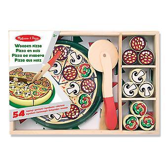 Melissa & Doug Houten Pizza Set 54-delig