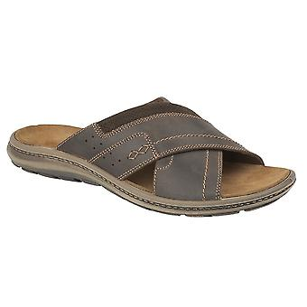 IMAC Mens Crossover Mule Sandals