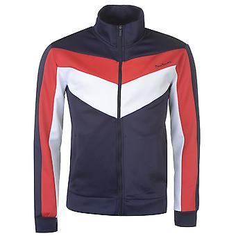 Pierre Cardin Mens Full Zipped Track Top Zip Sweater Jacket Jumper Pullover Long