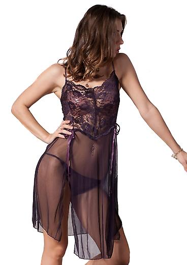 Waooh 69 - Undressed Transparent Purple