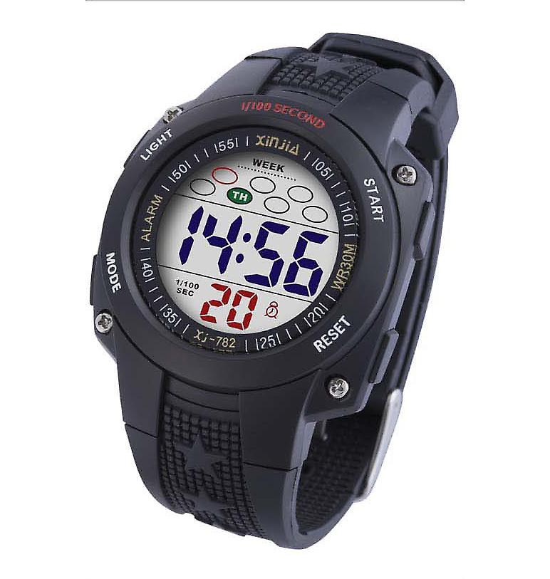 Waooh - Watch XINJIA LCD XJ-782 Black