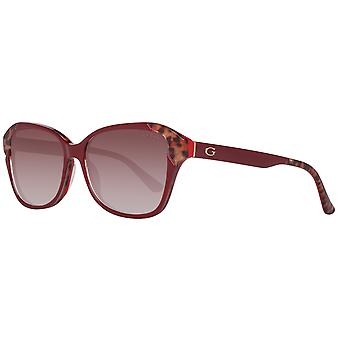 Guess sunglasses ladies Red