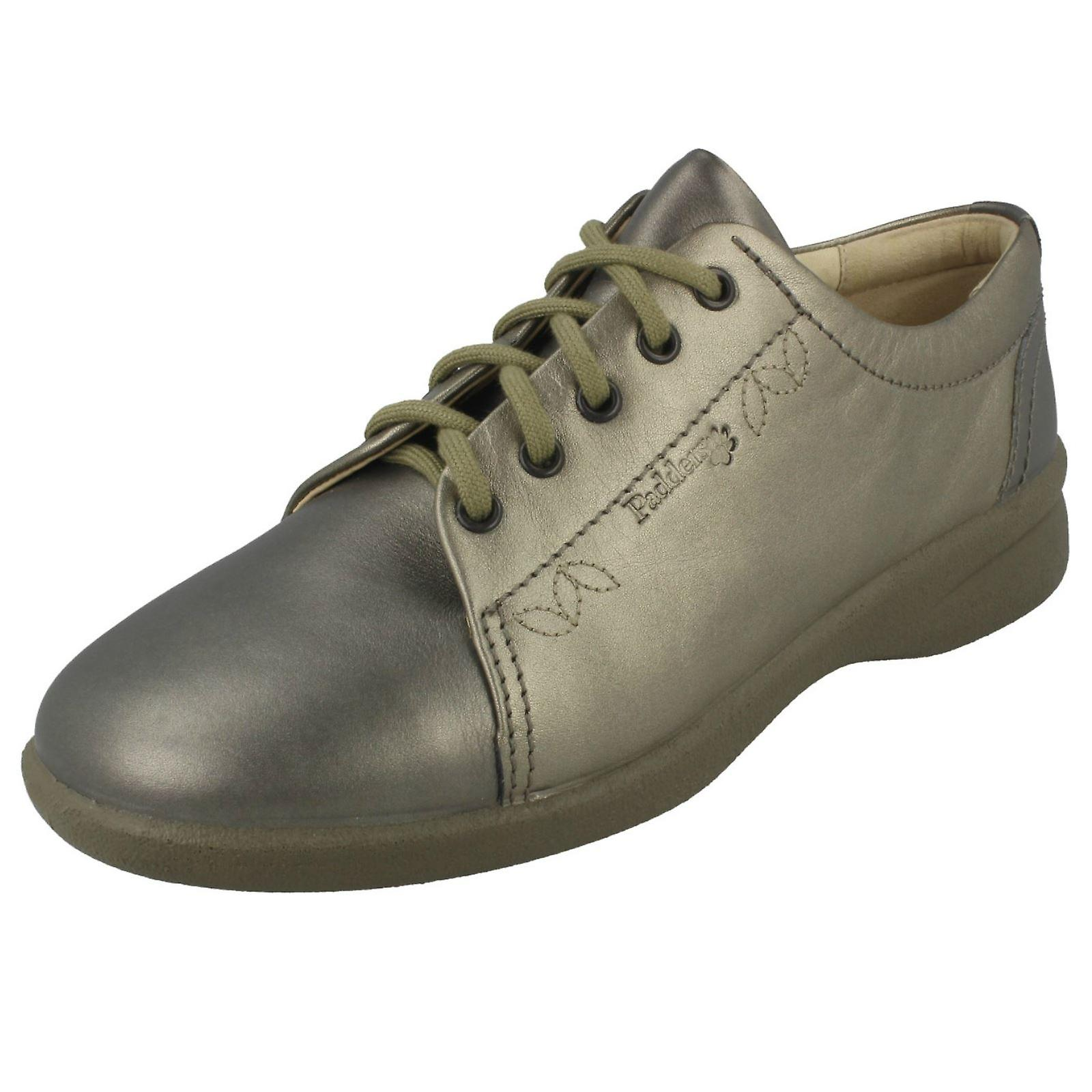 Mesdames Padders large montage Casual Lace Up chaussures Refresh2