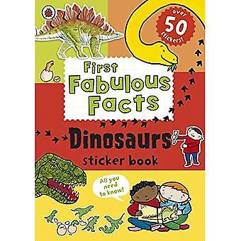 Ladybird First Fabulous Facts: Dinosaurs Sticker Book