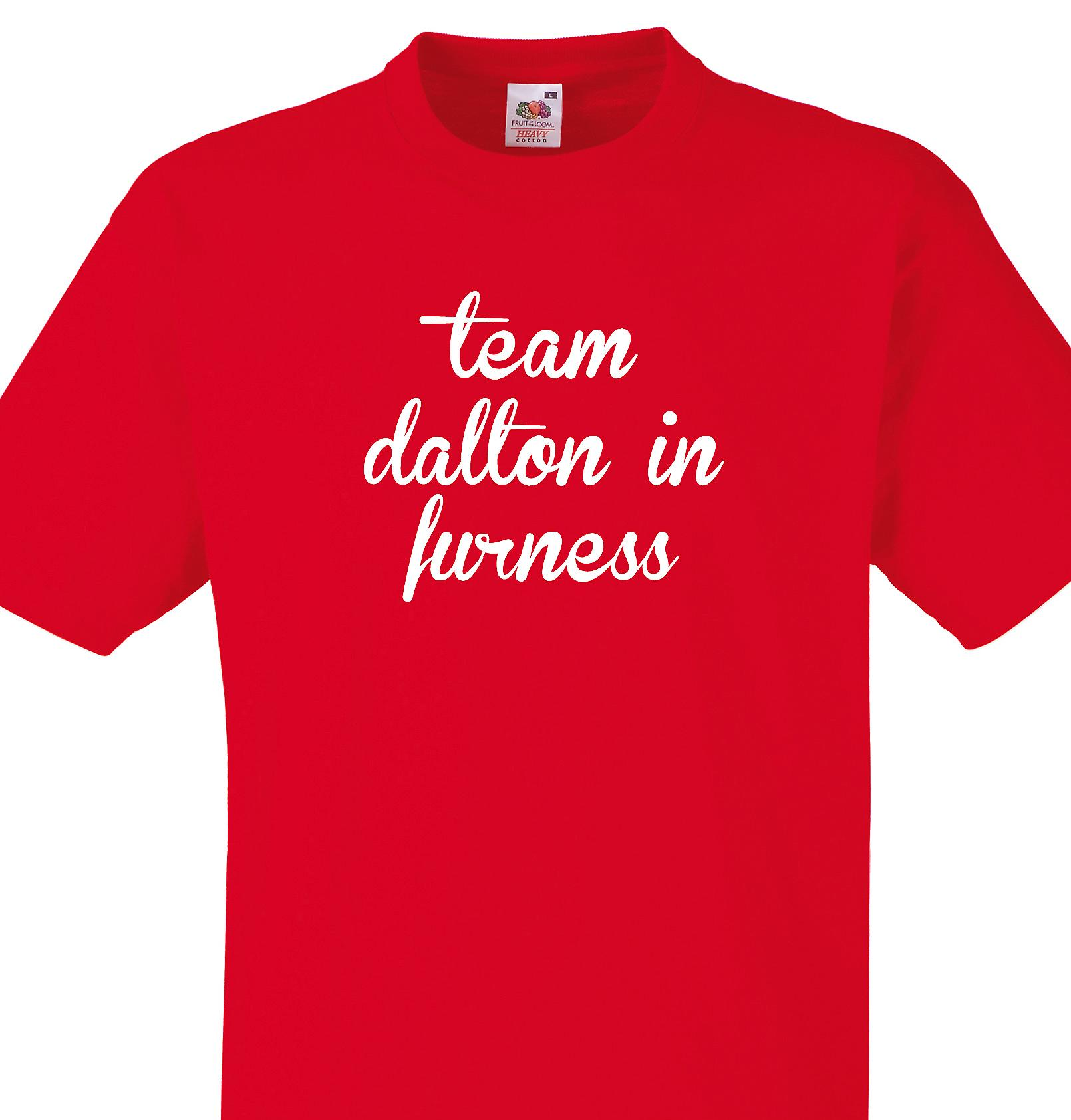 Team Dalton in furness Red T shirt