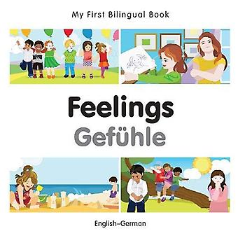 Min första tvåspråkiga bok - känslor - tyska-svenska