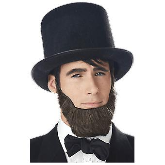 Abraham Lincoln Beard American President Fancy Dress Costume Accessory
