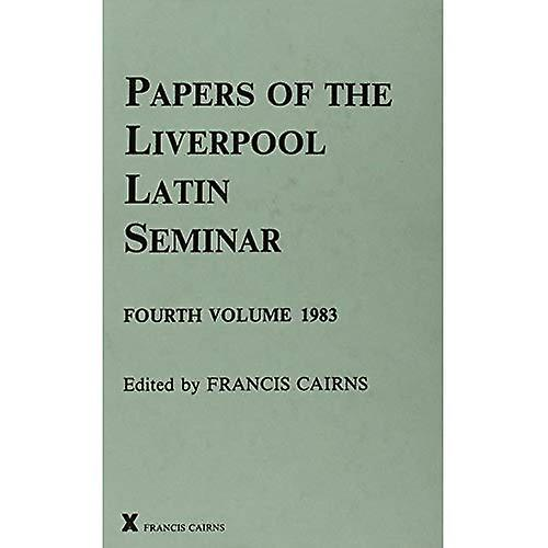 Papers of the Liverpool Latin Seminar, Vol 4, 1983