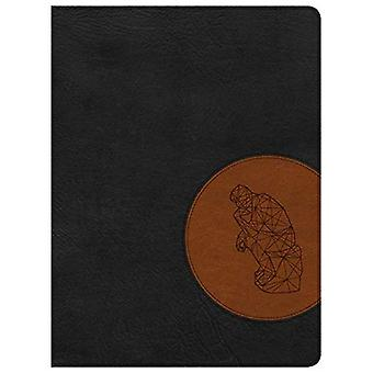 CSB Apologetics Study Bible� for Students, Black/Tan Leathertouch, Indexed