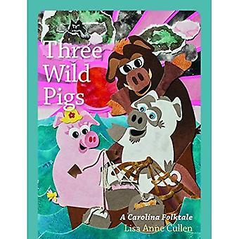 Tre vilda svin: En Carolina folksaga (unga Palmetto böcker)