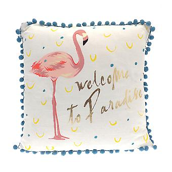 Country Club Welcome to Paradise Cushion