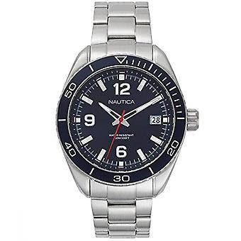 Nautica Analogueico Watch quartz mannen met stainless steel band NAPKBN002