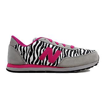 New Balance 501 Classic Grey/Pink Zebra KL501ZBY Grade-School