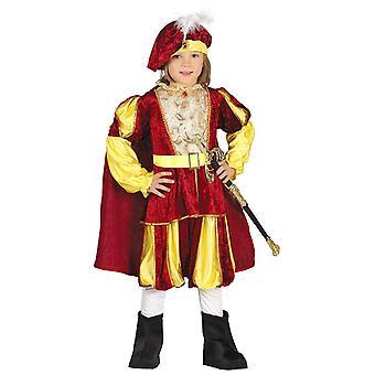 Jongens Prins Royalty Fancy Dress kostuum
