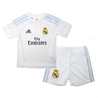 2015-2016 real Madrid Adidas Accueil Mini Kit