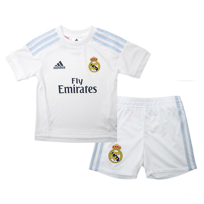 2015-2016 Real Madrid Adidas Home Mini Kit