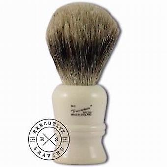 Simpsons Grosvenor Pure Badger Hair Shaving Brush in Imitation Ivory