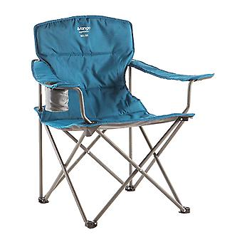 Vango Malibu Soft Arm Steel Camping Chair Mykonos Blue