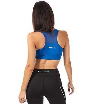 Womens Slazenger Jaya Bra Top In Olympian Blue