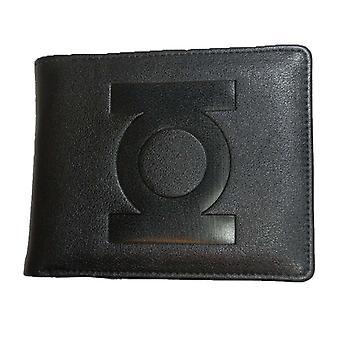 Men's DC Comics Green Lantern Black Bi-Fold Wallet
