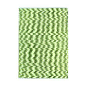 Umarmungsbelag umkehrbar gewebte Herringbone-Teppiche in Grün
