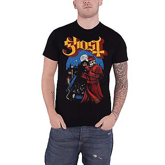 Ghost T Shirt Advancing Pied Piper Band Logo Prequelle new Official Mens Black