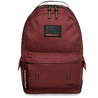 Superdry Hollow Montana Backpack Bag Red 42