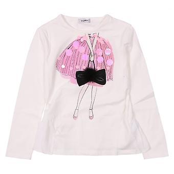 Byblos Kids T-Shirt Baby - Sequin And Gem