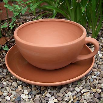 Terracotta Planter - Giant Tea Cup Planter