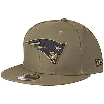 New Era 9Fifty Snapback Cap - New England Patriots olive