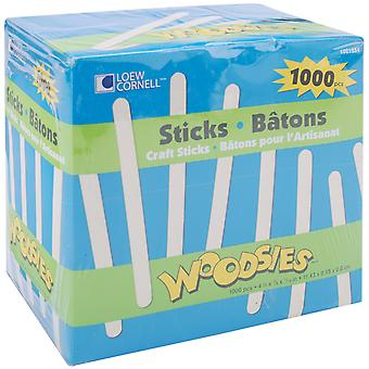 Woodsies Craft Sticks 4.5
