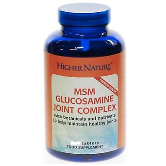 Plus Nature MSM Glucosamine mixte complexe, onglets 90 veg