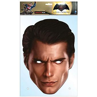 Superman Dawn of Justice Henry Cavill Single Card Party Face Mask