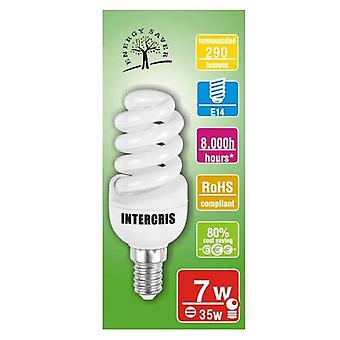 Intercris Saving bulb 7w 8000h020 (Home , Lighting , Light bulbs and pipes)