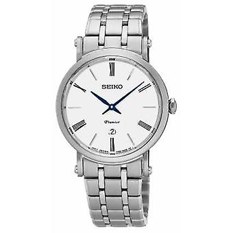 Seiko Womens Premier Stainless Steel Sapphire Glass SXB429P1 Watch